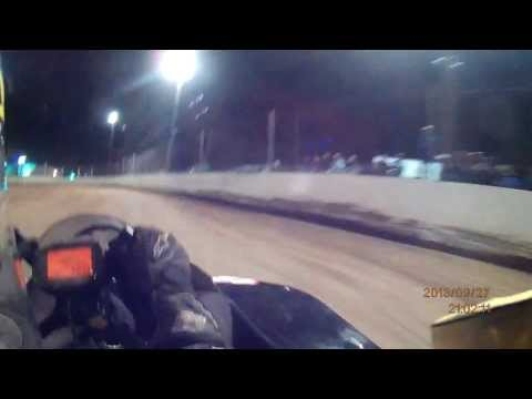 Michael Boucher Snydersville Raceway 9-27-13 Briggs Stock Light Feature Race