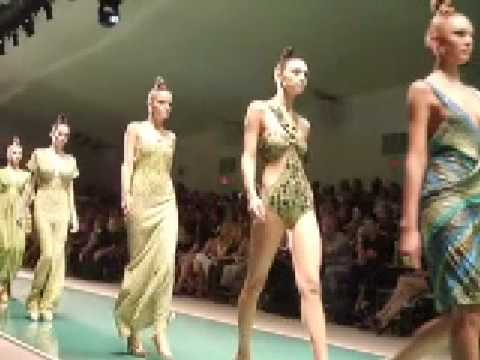 Front Row: Fashion Week Spring 2008 NYC (Marc Bouwer Show)