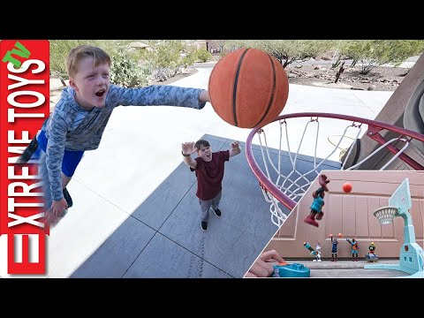 Crazy Basketball Game Trick Shots with Space Jam A New Legacy!!