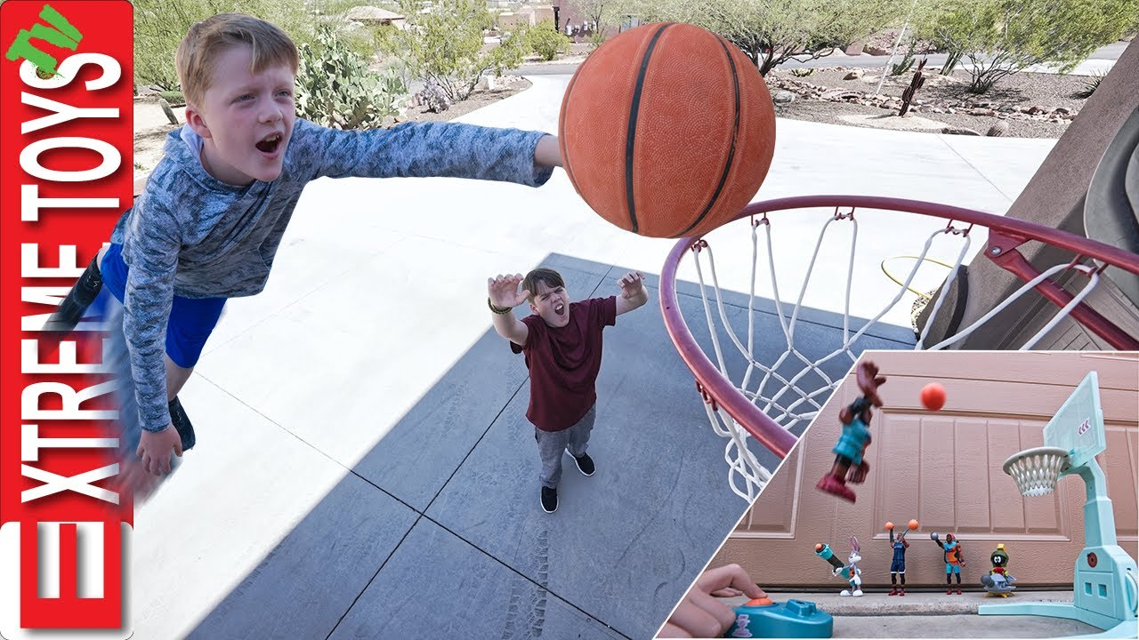 Download Crazy Basketball Game Trick Shots with Space Jam A New Legacy!!