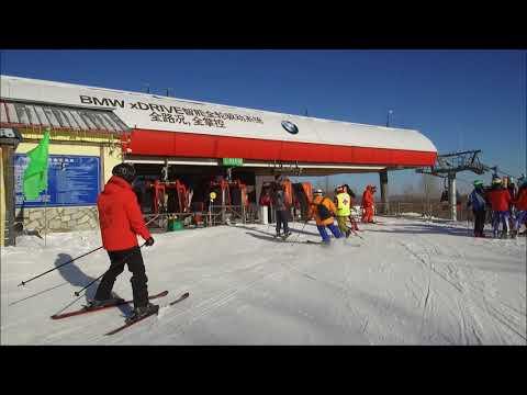 Skiing at Yabuli Club Med China