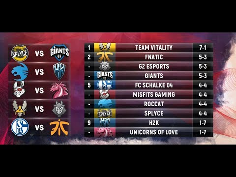 EU LCS Highlights ALL GAMES Week 5 Day 1 / W5D1 Spring 2018
