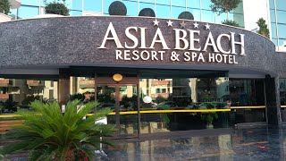 Полный обзор отеля Asia beach resort Аланія Турция 2020 A complete overview of the hotel Alanya