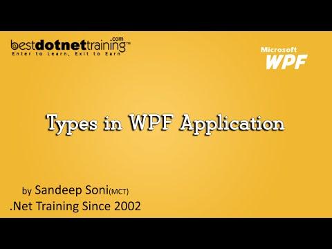 Windows Presentation Foundation (WPF) Tutorial - Create Window Application