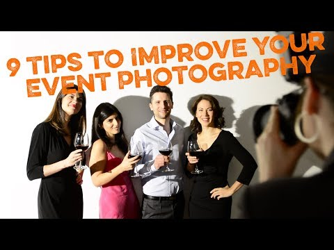 9 Quick Tips to Make You an Event Photography Pro