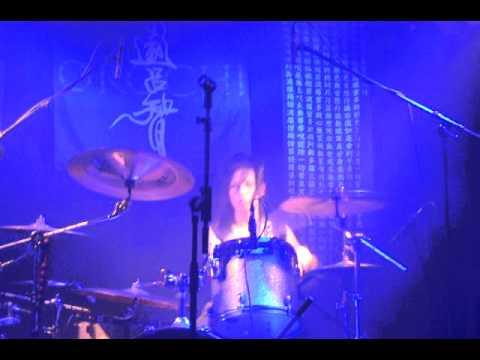 Orochi in Slovenia ~ 15.4.2011 - Genji Hotaru drum solo