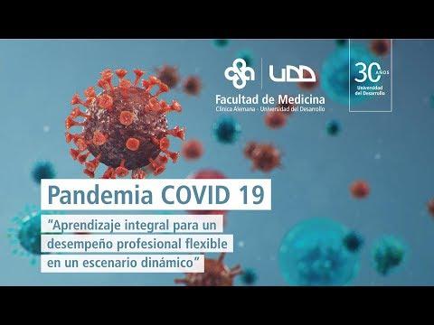 Charlas del curso Pandemia COVID: Viernes 17 de abril