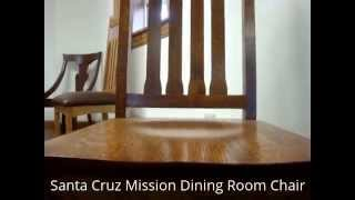 Amish Santa Cruz Mission Dining Chair