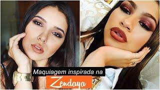 Maquiagem Inspirada na Zendaya | Por Thayná Souza.