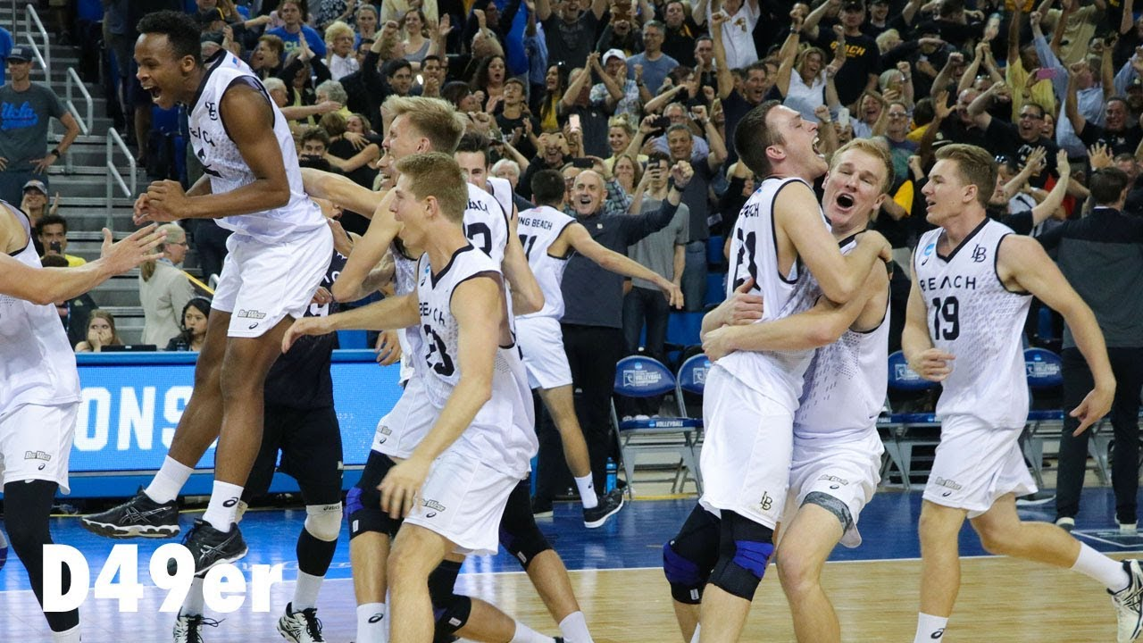 56cfbc7268ab Long Beach State men s volleyball wins 2018 NCAA National Championship