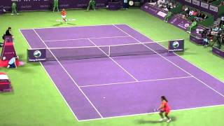 Caroline Wozainaki Vs Marion Bartoli- Wonderful Rally (WTA Doha Open Semi-2011) Thumbnail