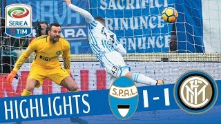 Spal - Inter 1-1 - Highlights - Giornata 22 - Serie A TIM 2017/18