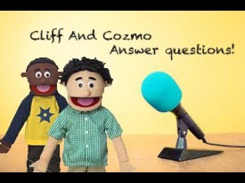 Cliff and Cozmo answer questions! | Puppet Interview
