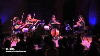 弦楽四重奏団<Moment String Quartet (モメカル)>による、大瀧詠一「...