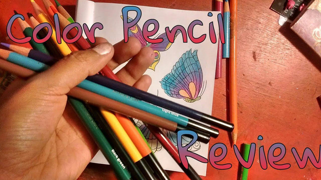 Colouring pencils for adults reviews - Artist Loft Color Pencil Review