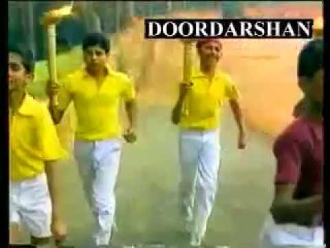 Classic Theme Song | Doordashan National Integration ft  Sunil Gavaskar, PT Usha, Prakash Padukone,