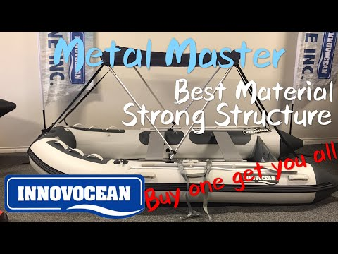 Best Inflatable Boats - INNOVOCEAN Metal Master Series