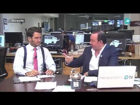 Pablo Gimeno analiza las previsiones de crecimiento de la Zona Euro en Intereconomía TV
