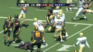Keenan Allen Football Highlight UC Davis at Cal