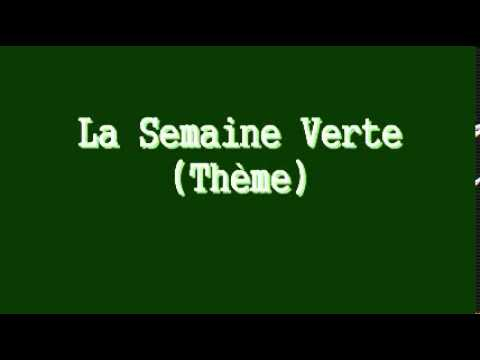 La semaine verte th me musical youtube for La chambre verte truffaut youtube