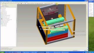 Pro/Engineer WF3: Cabling: автоматическая трассировка кабелей в 3D