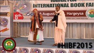 #HIBF2015 Wacdarihii Maxamed BK  iyo Sahra Ilaysa