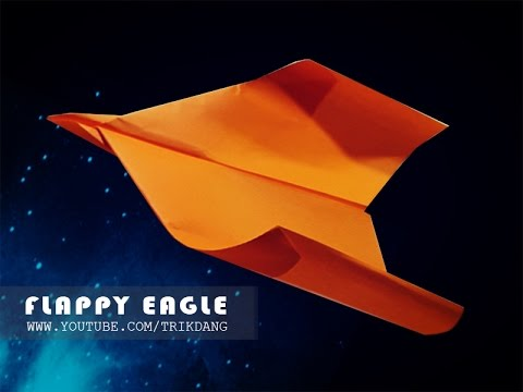 Lets make a paper plane that FLAPS  FLIES  Flapping