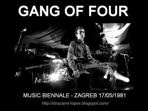 GANG OF FOUR - Zagreb 1981 (audio)