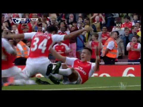 Arsenal Vs Manchester United  Full Math 04.10.2015
