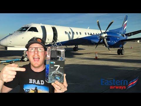 EASTERN AIRWAYS SAAB 2000 - with the GoPro Hero 7 Black!