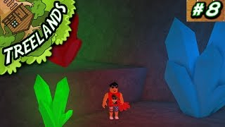 Treelands Ep. 8: Cave of CRYSTALS!! | Roblox