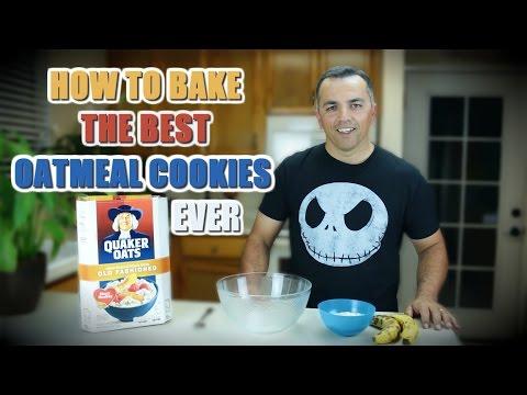 How To Make Oatmeal Cookies - No Flour No Sugar Recipe