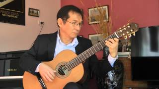 LOVE STORY (Where Do I Begin?) by Francis Lai. Guitar: Dang Thao