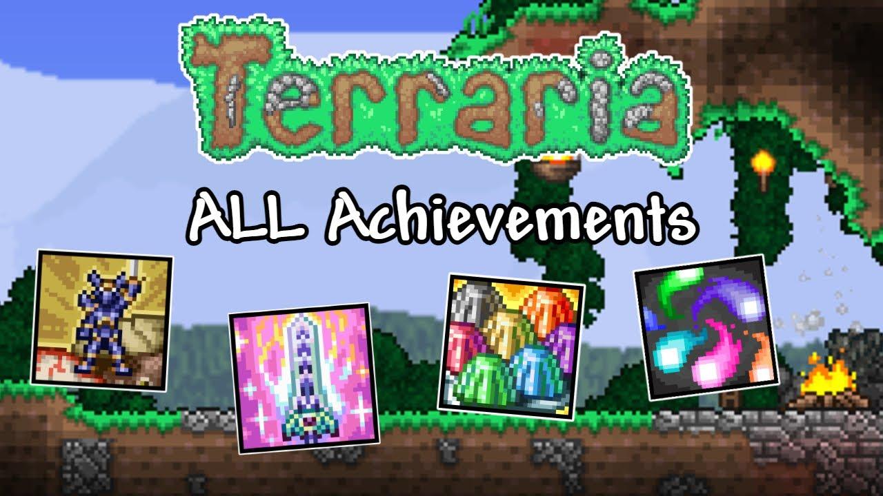 Download How to Unlock ALL Terraria's Achievements!   Terraria 1.4.1.2