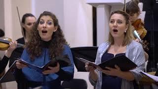"""Ana Torbica sings in Praetorius' motet """"Puer natus in Bethlehem"""""""