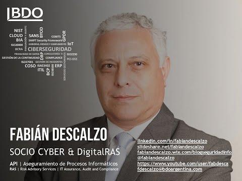 Presentación del canal Fabián Descalzo en #BDOAPI