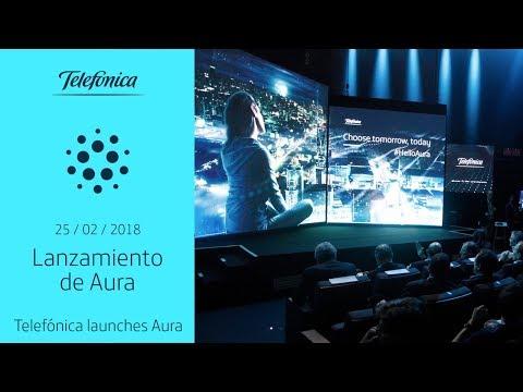Full Keynote #HelloAura: Telefónica launches Aura