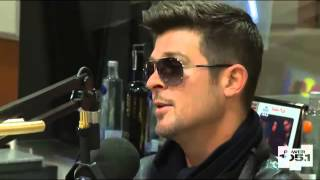 Robin Thicke interview On The Breakfast Club (Part 2)