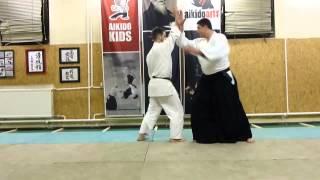 shomen uchi kotegaeshi [TUTORIAL] Aikido empty hand basic technique