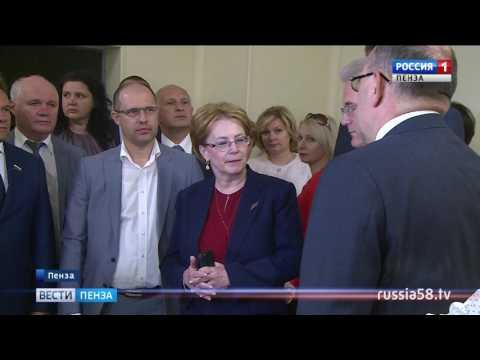 Вероника Скворцова оценила темпы строительства перинатального центра в Пензе