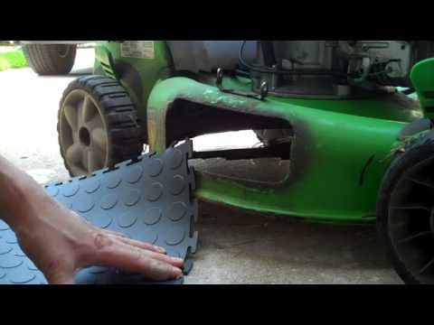 DIY Mower Discharge Chute Repair