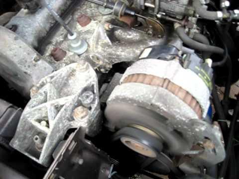 Citroën BX 15 RE - Broken alternator