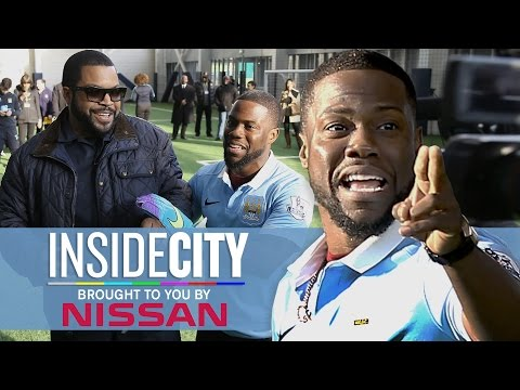 KEVIN HART & ICE CUBE PENALTY KICKS! | Inside City 178