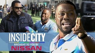 Download KEVIN HART & ICE CUBE PENALTY KICKS! | Inside City 178 Mp3 and Videos