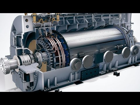 How a Power Plant Generator Working to Create Electricity ? Electrical Engineering