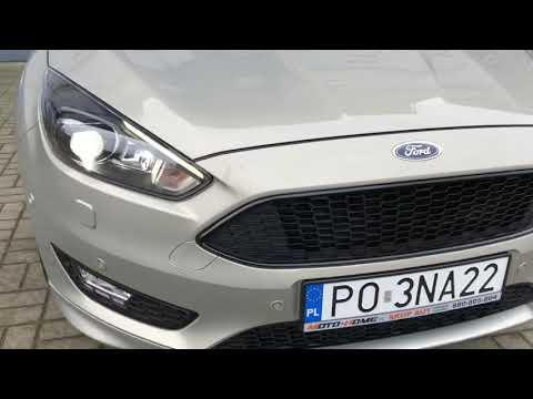 Ford Focus 2017r SalonPL ST-Line FULl Wersja SKUP AUT Poznań Moto-home.pl