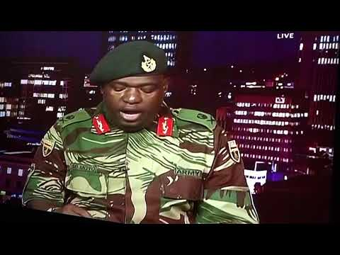 Army Take a Over ZBC | BREAKING NEWS