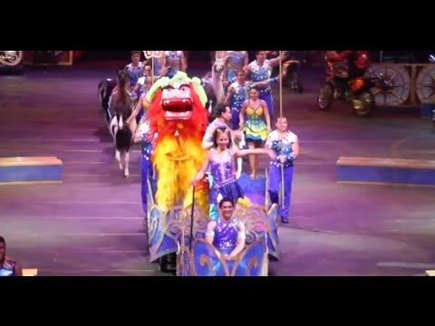 """Legends"" opening - Ringling Bros. and Barnum & Bailey Circus 2014"