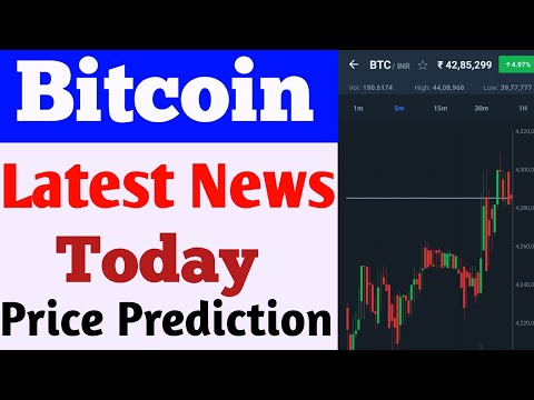 Bitcoin Price Prediction   Bitcoin Latest News   Crypto News Today   Top Crypto News 2021   Wazirx