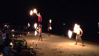 Fire Dancing in Koh Samed Thailand